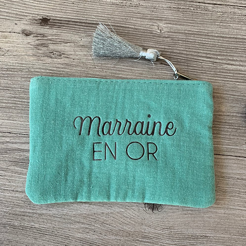 Pochette: Marraine en Or