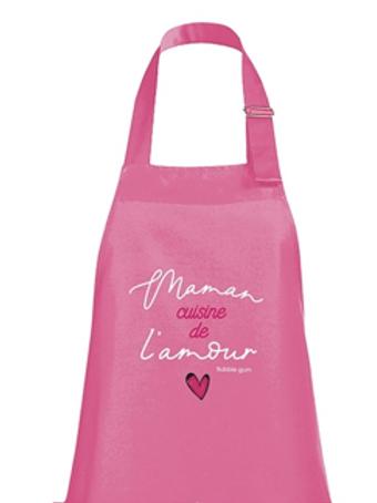 Tablier: Maman cuisine de l'amour