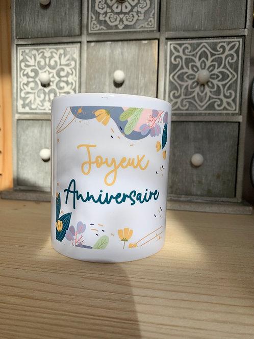 Mug: Joyeux anniversaire
