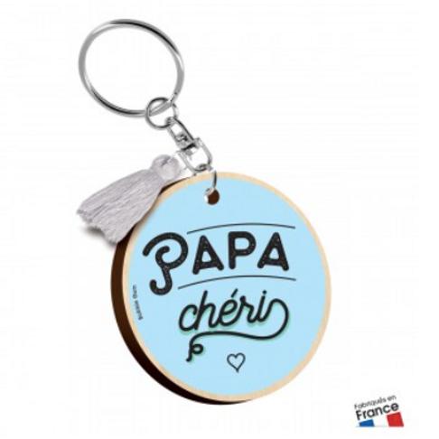 Porte clés: Papa chéri
