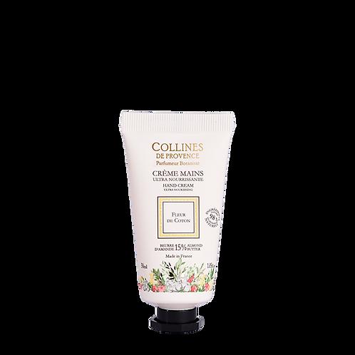 Crème Mains: Fleurs de Coton