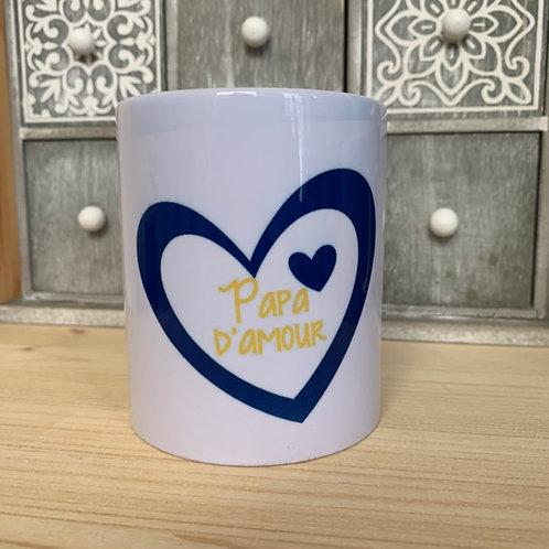 Mug: papa d'amour