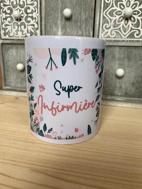 Mug: Super infirmière