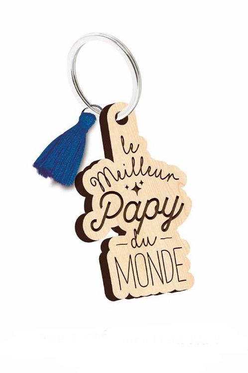 Porte clés: le meilleur Papy du monde