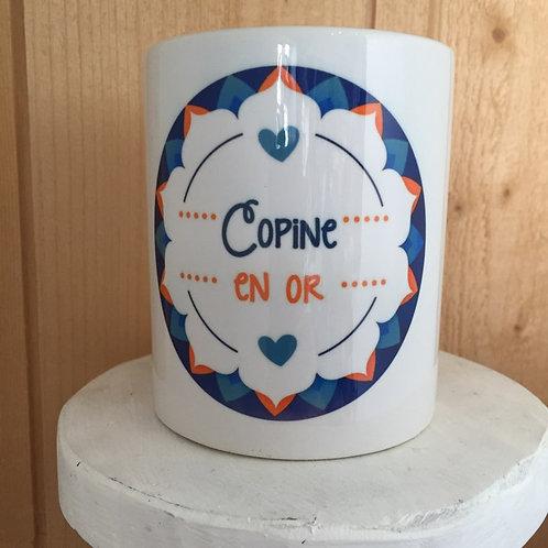 Mug: Copine en Or