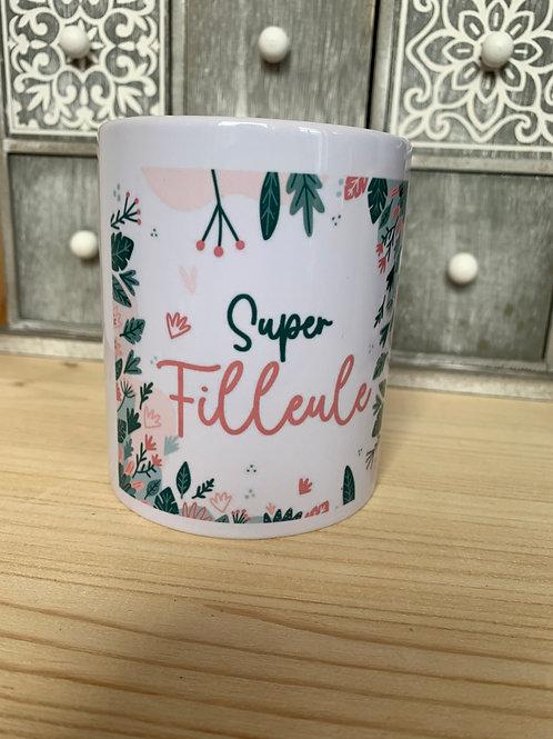 Mug: Super filleule
