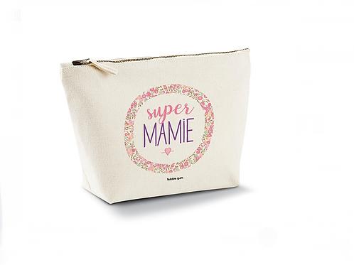 Pochette coton bio: Super Mamie