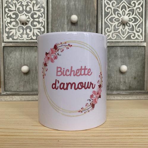 Mug: Bichette d'amour