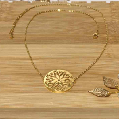 Collier: rond
