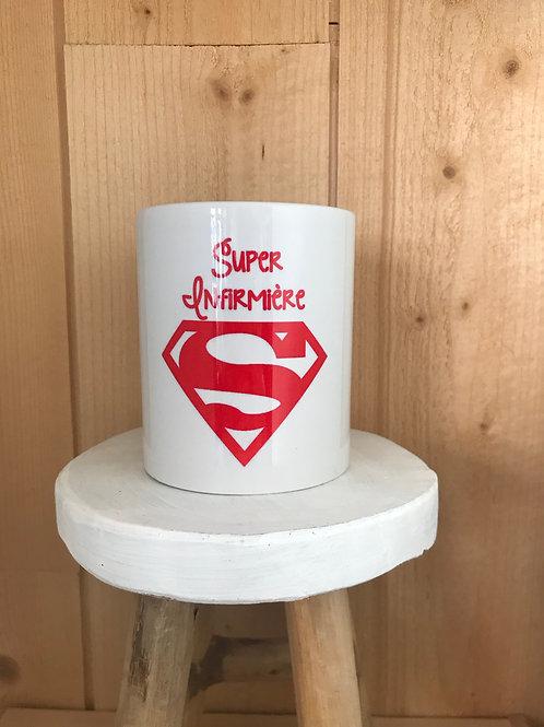 Mug: Infirmière superman