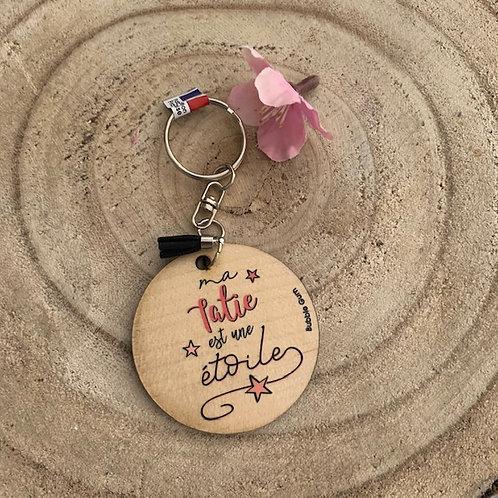 Porte clés: Tatie