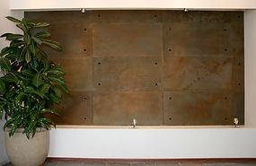 Láminas de Concreto Oxidadas