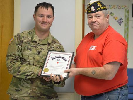 Awards Presented by American Legion Post 230