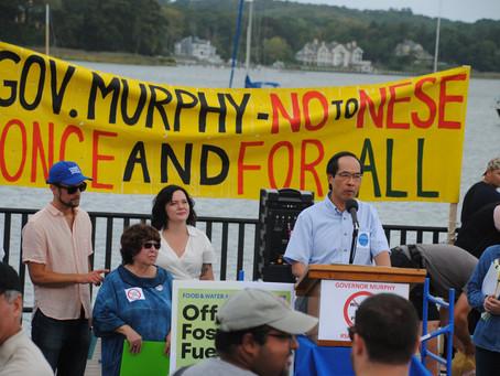 Rally Against Raritan Bay Gas Pipeline