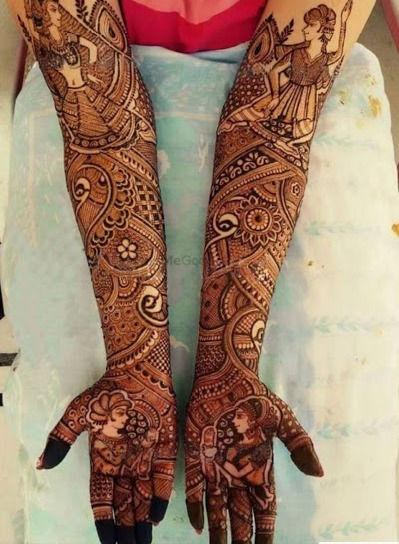 Advance Theme Bridal Mehandi
