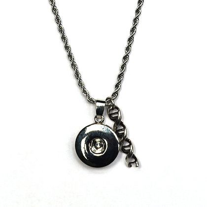 Snap Necklace with DNA Charm