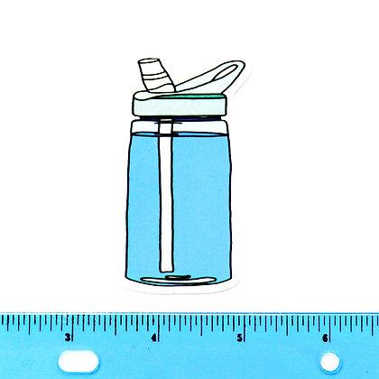 Water Bottle Vinyl Sticker