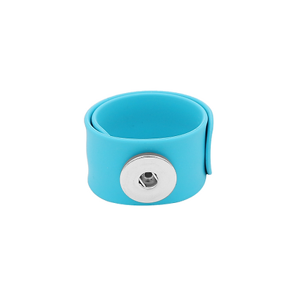 Light Blue Slap and Snap Bracelet