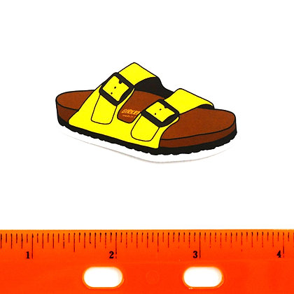 Yellow Birkenrock Vinyl Sticker