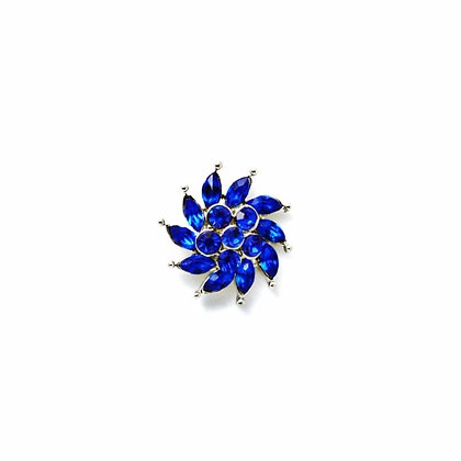 Royal Blue Swirl