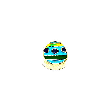 Blue And Green Egg Charm