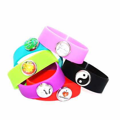 Silicone Snap Band