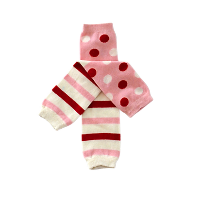 Candy Pink Leg Warmers