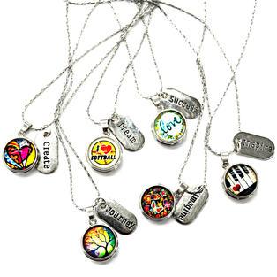 Snap necklaces