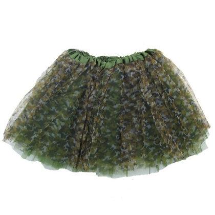 Ballet Tutu - Green Camo