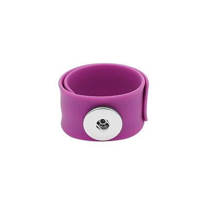 Purple Slap and Snap Bracelet