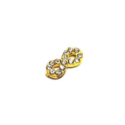 Gold Infinity Symbol Charm