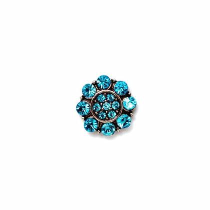 Sky Blue Crystal Flower