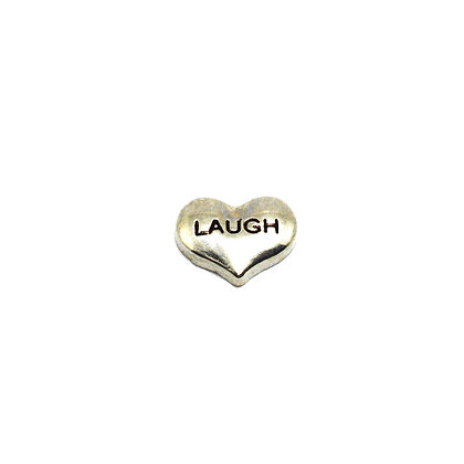 Heart Laugh Charm