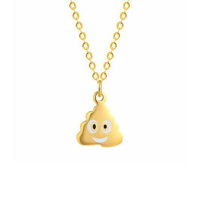 Poop Emoji - Gold