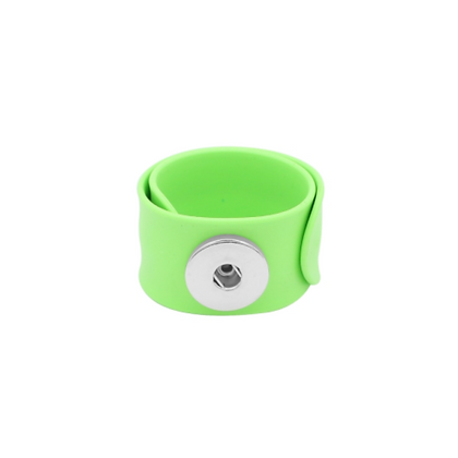 Lime Slap and Snap Bracelet