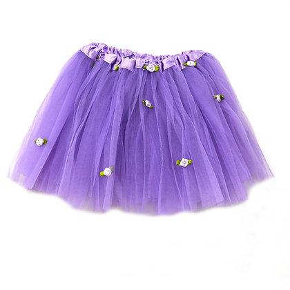 Ballet Tutu - Lavender Rosette