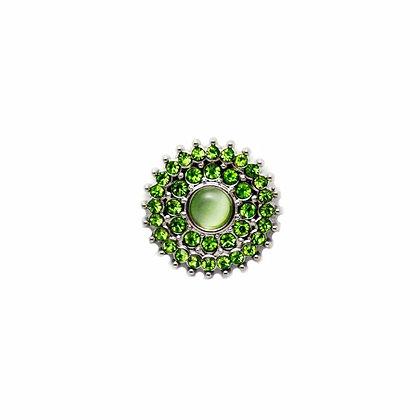 Green Crystal Burst