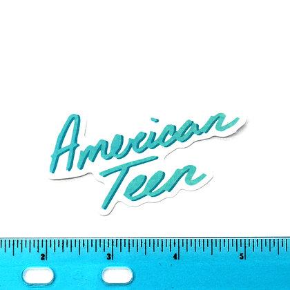 American Teen Vinyl Sticker