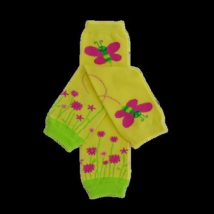 Flutters & Flowers Leg Warmers