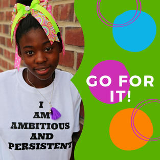 I am ambitious and persistent.