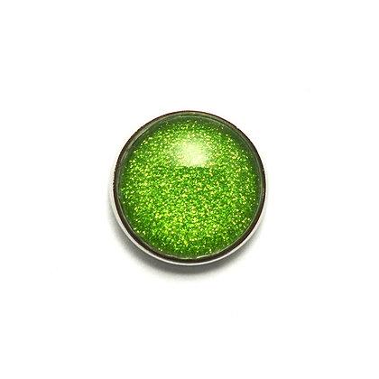 Green Fine Sparkle Snap