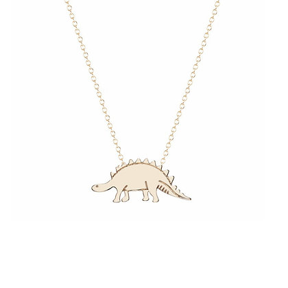 Stegosaurus - Goldtone