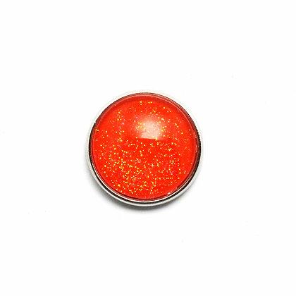 Dark Orange Sparkle Snap