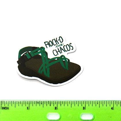 Green Chacos Vinyl Sticker