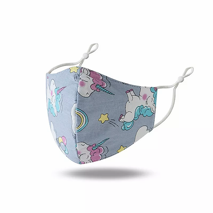 Small Child Unicorn Adjustable Mask