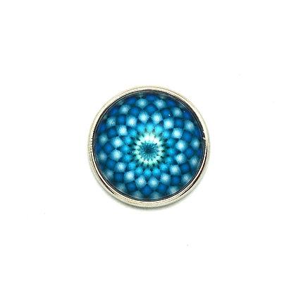 Mandala Blue Spirograph Snap