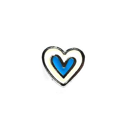 Blue Sweetheart Slider Charm