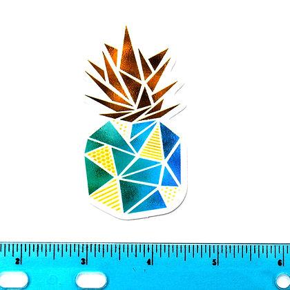 Geo Pineapple Vinyl Sticker