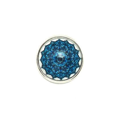 Mandala Shades of Blue Snap