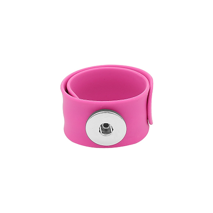 Pink Slap and Snap Bracelet